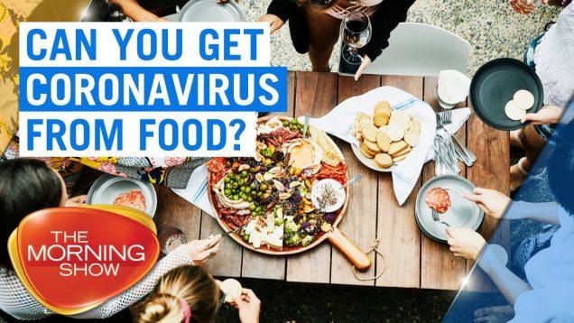 coronavirus from food