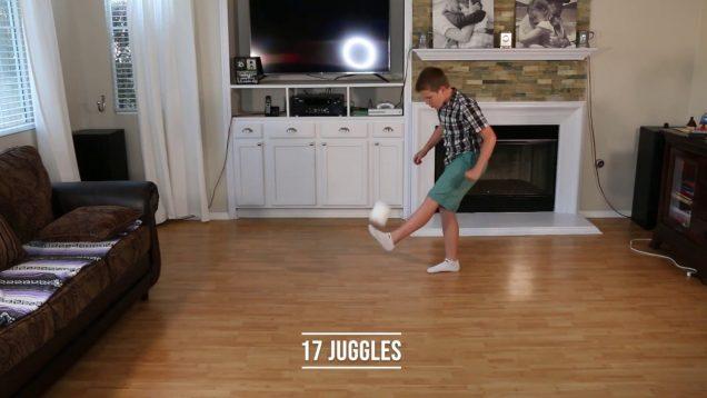 COVID-19 Soccer Juggling Toilet