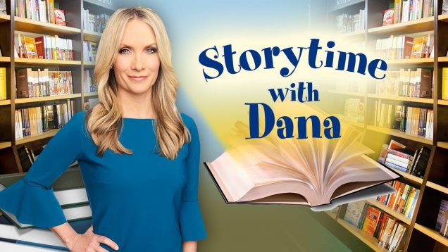 Dana Perino reads to children
