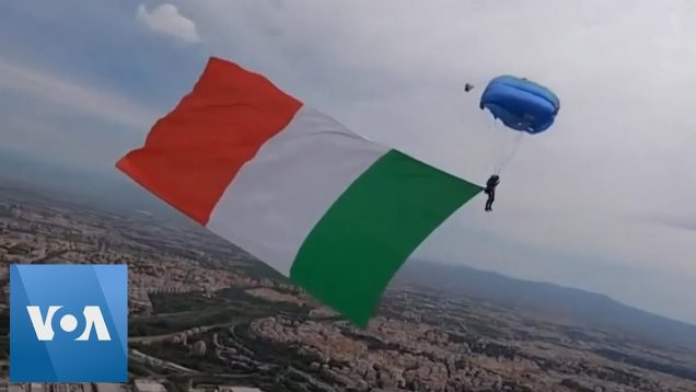 Italian Fight With Skydive