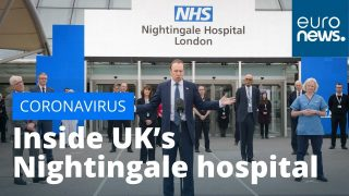 NHS Nightingale: Inside the UK's coronavirus hospital