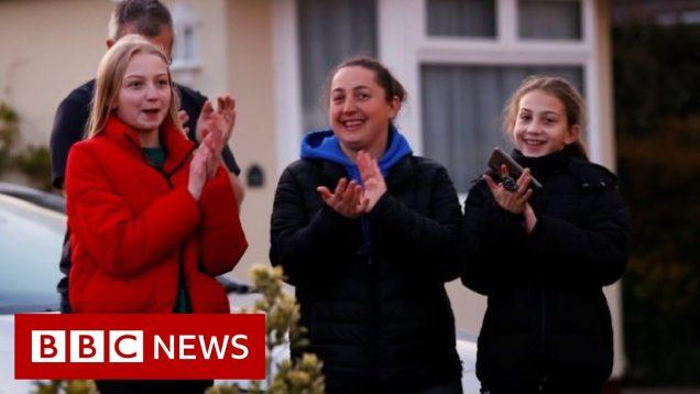 UK applauds the NHS