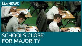 UK schools close