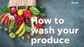 wash fruits