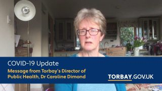 COVID-19 message for the community of Torbay