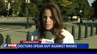 Doctors speak out against masks