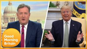 Piers Is Outraged over President Trump's Drive by during His COVID-19 Treatment | GMB
