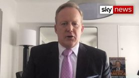 Trump 'should have stayed in hospital', says his former press secretary Sean Spicer