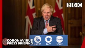 UK at 'critical moment' with coronavirus, Boris Johnson 🔴 @BBC News LIVE – BBC