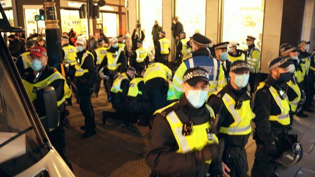 Anti Lockdown Protest London 5 November 2020 POLICE BEAT PROTESTORS! 100+ ARRESTED