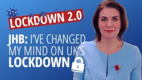 Julia Hartley-Brewer: Why I No Longer Back Lockdown