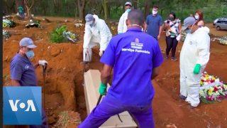 Mass Grave for Coronavirus Victims in Brazil