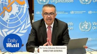 WHO gives updates on COVID-19 as world prepares for vaccines