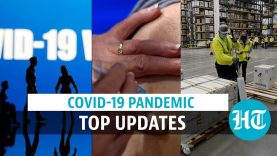 Covid update: Pfizer vaccine's 1st batch out in USA; virus & lung cell damage