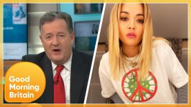 Piers Is Outraged After Rita Ora Breaks COVID Rules for Birthday Party | Good Morning Britain