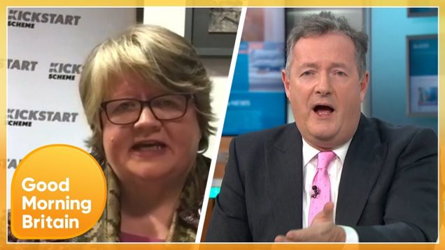 Government Minister Walks Out of GMB Interview on COVID Death Rates | Good Morning Britain