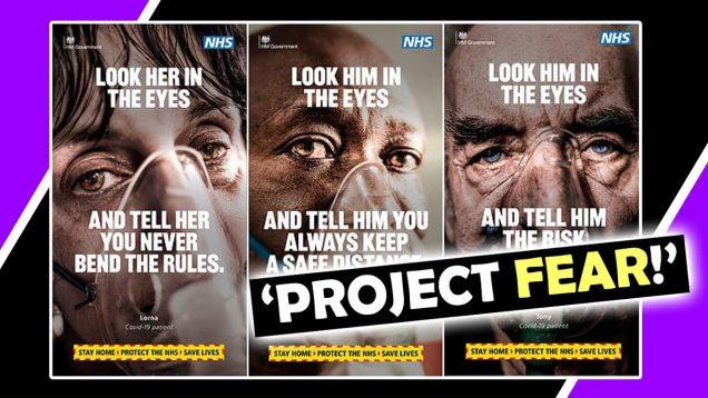 """PROJECT FEAR!"" Says MP Over New Advert / Hugo Talks #lockdown"