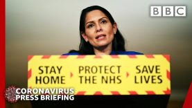 Stick with the rules during lockdown, Patel 🔴 Covid-19 briefings @BBC News live – BBC