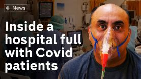 'The beds aren't even getting cold': Inside a London hospital full with Covid patients