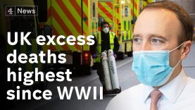 UK excess deaths highest since WW2 due to Covid