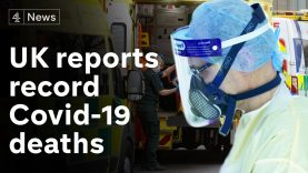 UK reports record 1,564 daily Covid deaths, as pressure rises on NHS