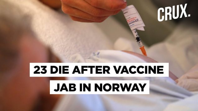 Vaccine Side Effect? Norway Sounds Alarm As 23 Elderly Patients Die After Receiving Pfizer Vaccine