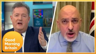 Piers Fiercely Questions Minister Over If Matt Hancock Lied About PPE in the COVID Pandemic | GMB