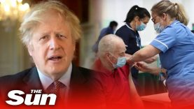 UK hits 15m Covid vaccines target day before deadline as Boris Johnson hails 'extraordinary feat'