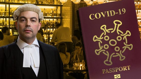Are coronavirus vaccination passports lawful?