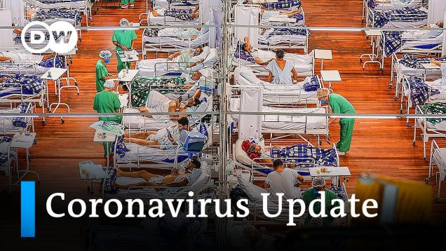 Brazil exceeds 4,000 daily COVID-19 deaths +++ NZ stops India travel   DW News