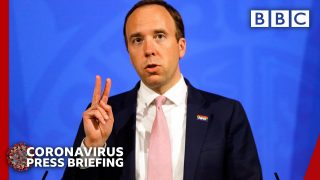 UK seeing 'very low levels' of Covid-19, Matt Hancock Downing Street briefing @BBC News live 🔴 BBC