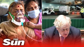 COVID-19 in India: UK sends vital oxygen & medical equipment as crisis rages on
