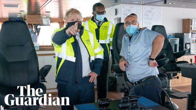 Boris Johnson continues Scotland tour despite staffer's positive Covid test