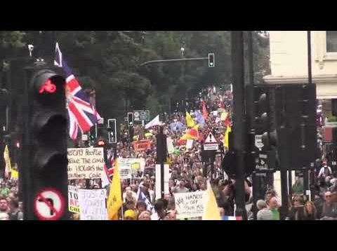 England is not done fighting yet another protest