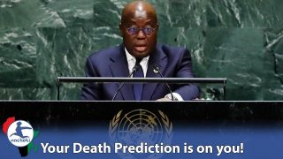 Ghana's President Shocks UN by Reversing the World's Dead Africans COVID Prediction on Them