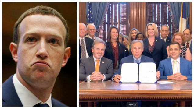 HISTORIC DAY: Texas signs Social Media Free Speech Bill into Law!
