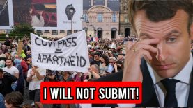 I Will Not Submit': 140,000 French Citizens Protest Against Vaccine Passport