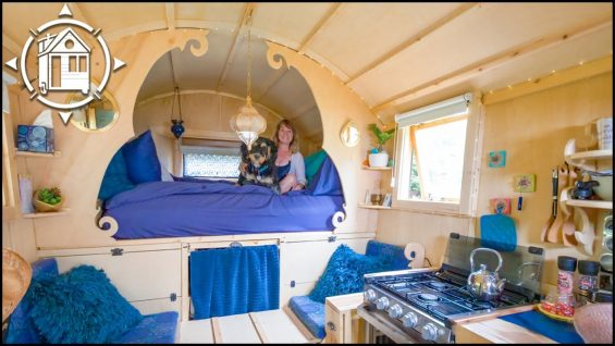 She built THIS during Covid lockdown?! $15k Gypsy Wagon Tour