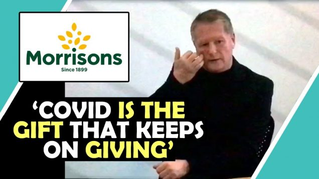 Watch MORRISONS CEO Say 'Covid Is The Gift That Keeps On Giving' / Hugo Talks #lockdown
