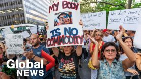 """We will not comply!"""" New York protesters reject COVID-19 vaccine mandates"""