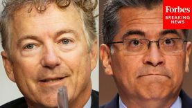 You Sir, Are The One Ignoring Science': Rand Paul Battles Becerra Over COVID-19 Rules