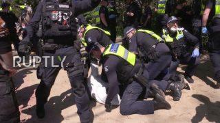 Australia: Arrests in Melbourne at protest against COVID vax mandates
