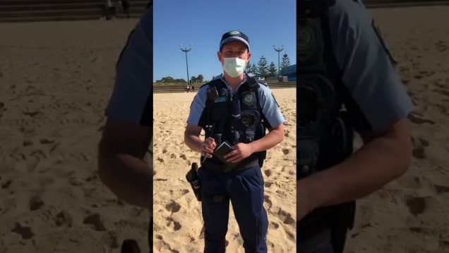Irish Legend Defeats Australian Police Totalitarianism !!