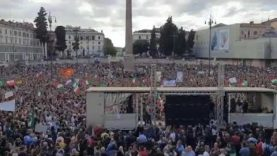 Italy 🇮🇹 Protesters we with Stand with in this fight !!!!!