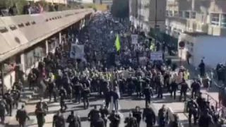 Millions Protest in Paris against Manadate and The PASS
