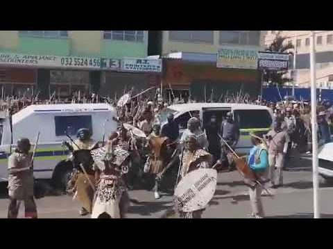 South Africa Erupt With Protesters over Manadate